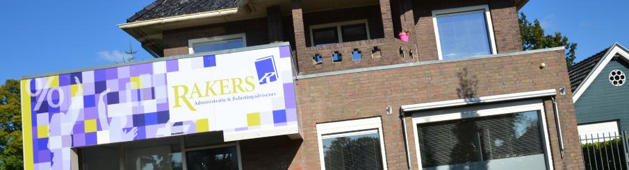 Welkom bij Rakers Administratie en Belastingadviseurs