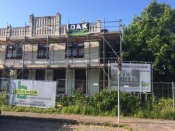 Villa Veldkamp te Erica Renovatie plat dak met EPDM dakbedekking.