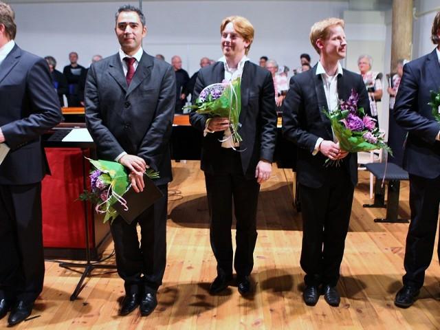 Marcel Reijans, Sinan Vural, Martijn Blaak, Stephan Blaak en Stephan Heinen.